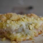 Ciasto rabarbarowe z budy...