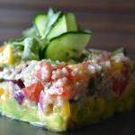 Sałatka z kaszą quinoa