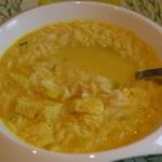 Tajska zupa z mlekiem kok...