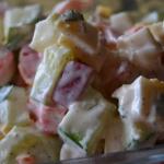 Salatka z paluszkami Suri...