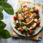 Fit salatka z kurczakiem