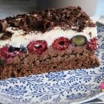 Ciasto czekoladowe z mali...