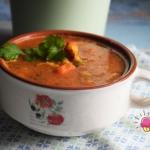 Zupa z soczewica i dynia ...