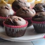 Muffiny z kremem czekolad...