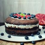 Dietetyczny tort biszkopt...