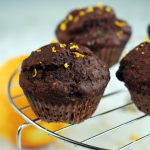 Razowe muffiny kakaowo - ...