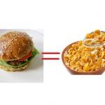 Hamburger = miska platkow...