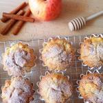 Jablkowe babeczki z ricot...