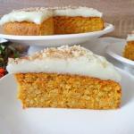 Ciasto marchewkowo-migdal...