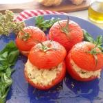 Faszerowane pomidory...
