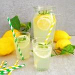 Lemoniada z cytryny i lim...