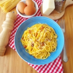 Spaghetti alla carbonara ...