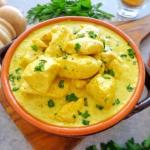 Kuczak curry w sosie...