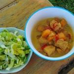 Curry z kurczakiem i dyni...