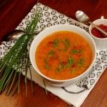Zupa papryka doprawiona