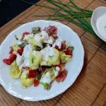 Tortellini w salatce