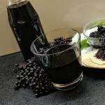 Sok z owocow czarnego bzu...