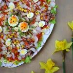 Wielkanocna salatka z kur...