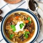 Rosyjska zupa grzybowa