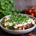 Pomidorowa salatka z feta...