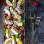 Sałatka z jajkami,...