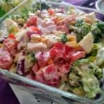 Salatka z brokulem i feta...