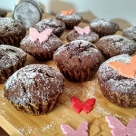 Babeczki kakaowo - pomara...