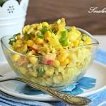 Salatka curry z kurczakie...