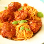 Spaghetti z pulpecikami...
