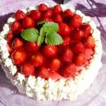 Tort ajerkoniakowy z trus...