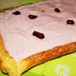 Francuskie ciasto z owoco...