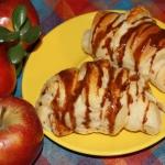 Rogaliki drozdzowe z jabl...