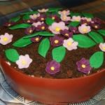 Tort  Doniczka