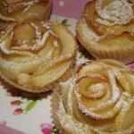 Róże z ciasta...
