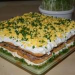 Salatka ciasto