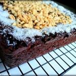Brownie jaglane z kokosem