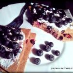 Omlet czekoladowy z borow...