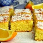 Ucierane ciasto pomarancz...