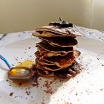 Czekoladowe pancakes z 3 ...