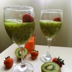 Domowy jogurt kiwi owocow...