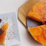 Sernik z pomarancza na zi...