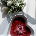 Domowy kisiel truskawkowy...