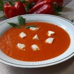 Zupa krem z pieczonej...