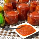 Ketchup sos z cukinii