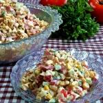 Salatka z zupek chinskich...