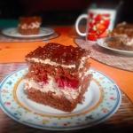 Kremowe ciasto z...