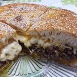 Domowy burger XXXL