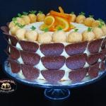 Tort pomaranczowy z trufl...