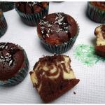 Muffinki kakaowo - serowe...