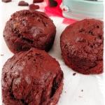 Muffiny czekoladowe z bia...